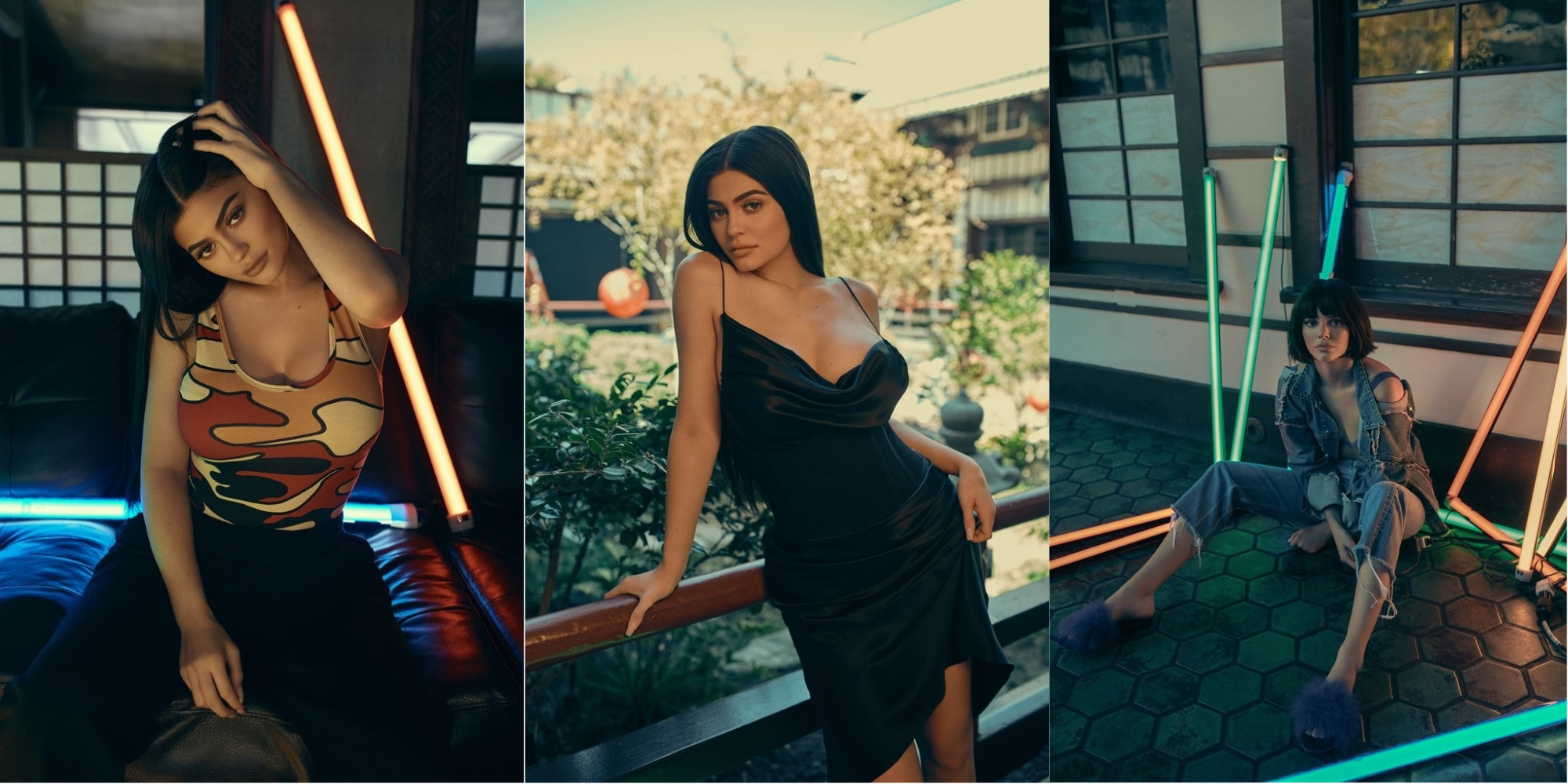 2 kendall and kylie jenner - posing