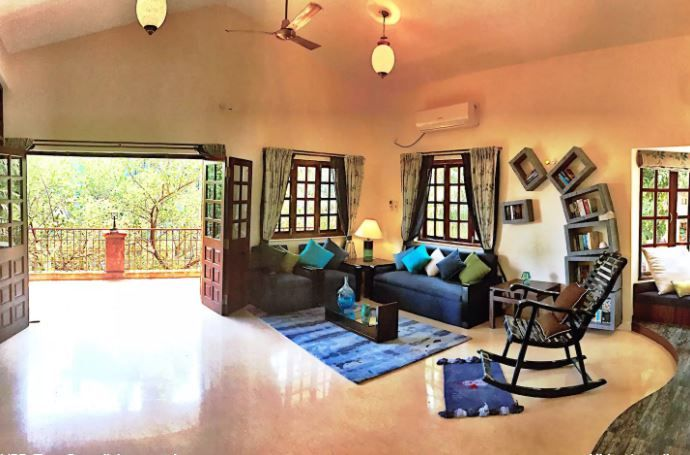 3 airbnbs in goa