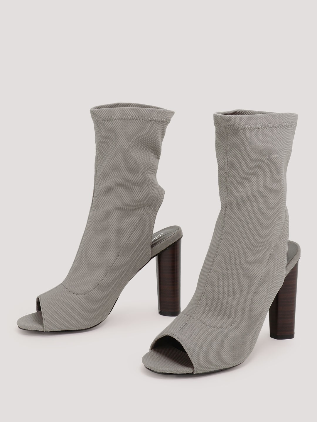 2 stylish boots - Sock Fit High Ankle Boots