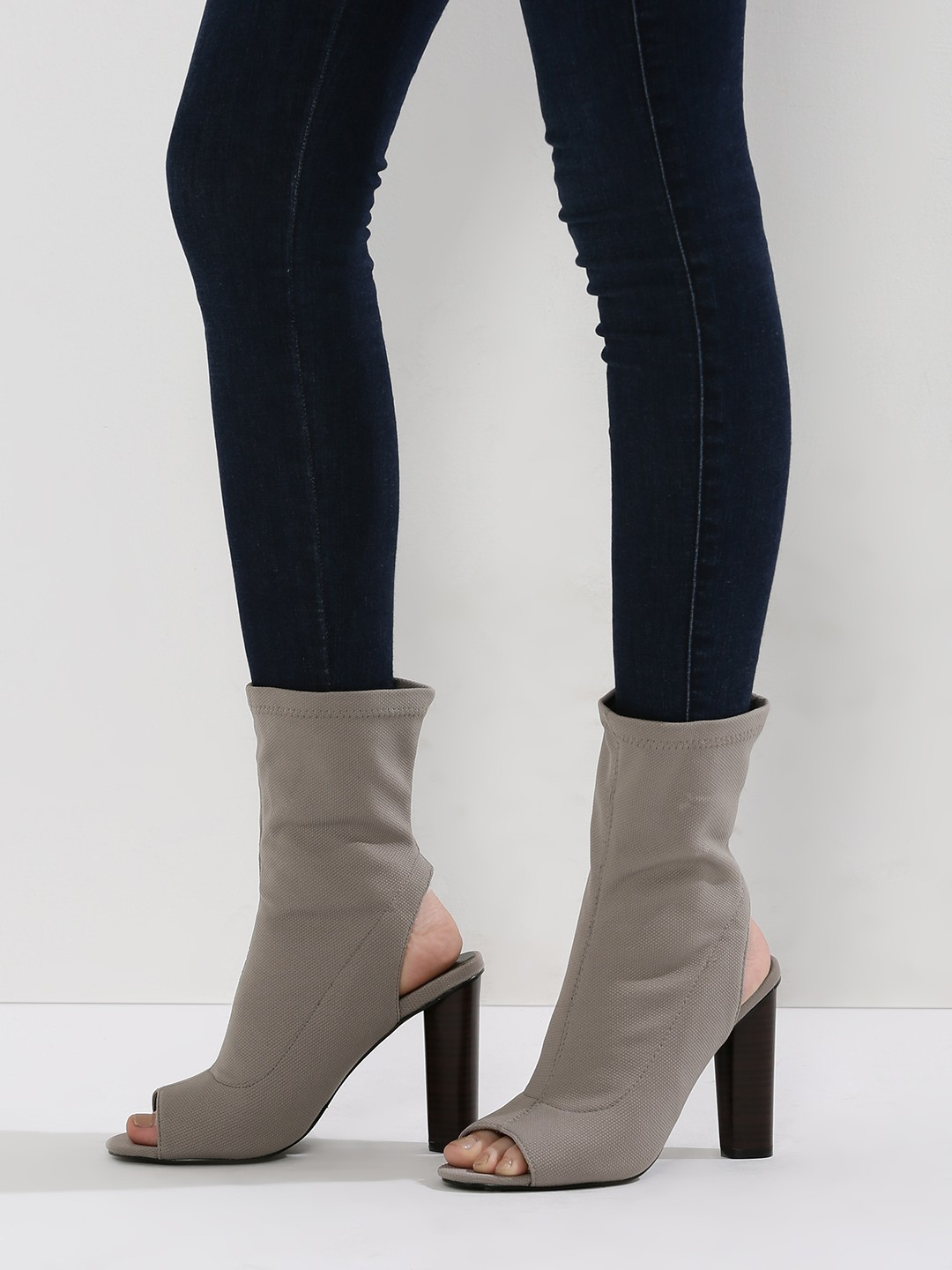 3 stylish boots - Sock Fit High Ankle Boots