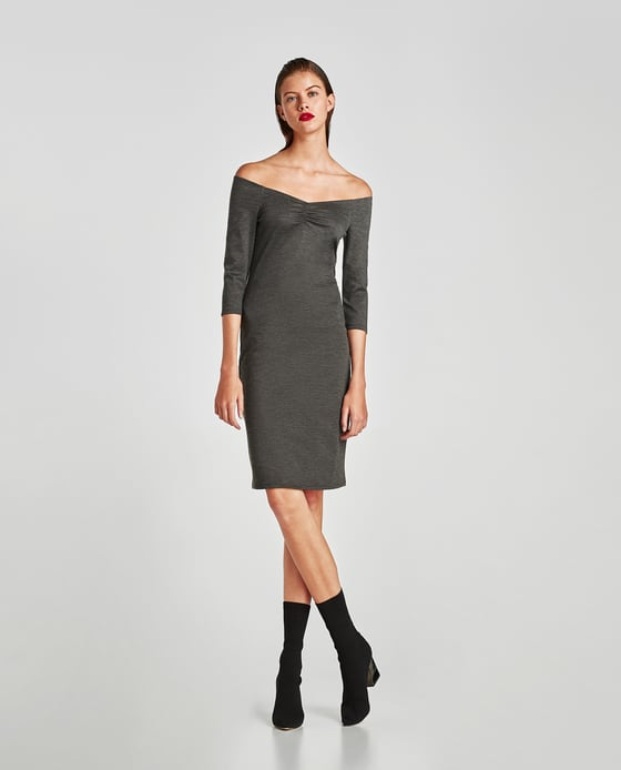 2 party - Off-Shoulder Pointe Di Roma Dress
