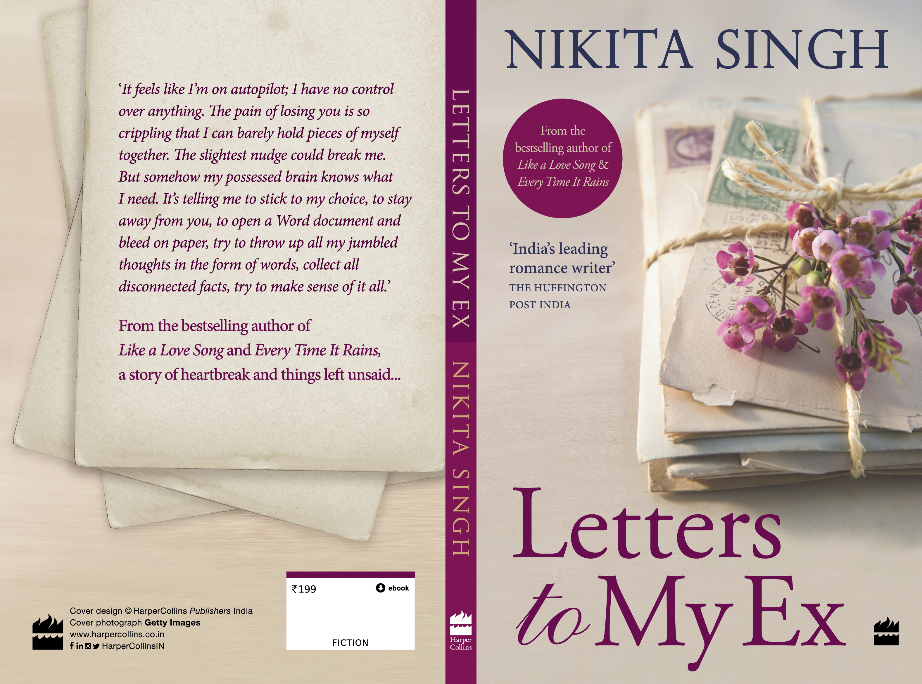 Letters to My Ex - cover