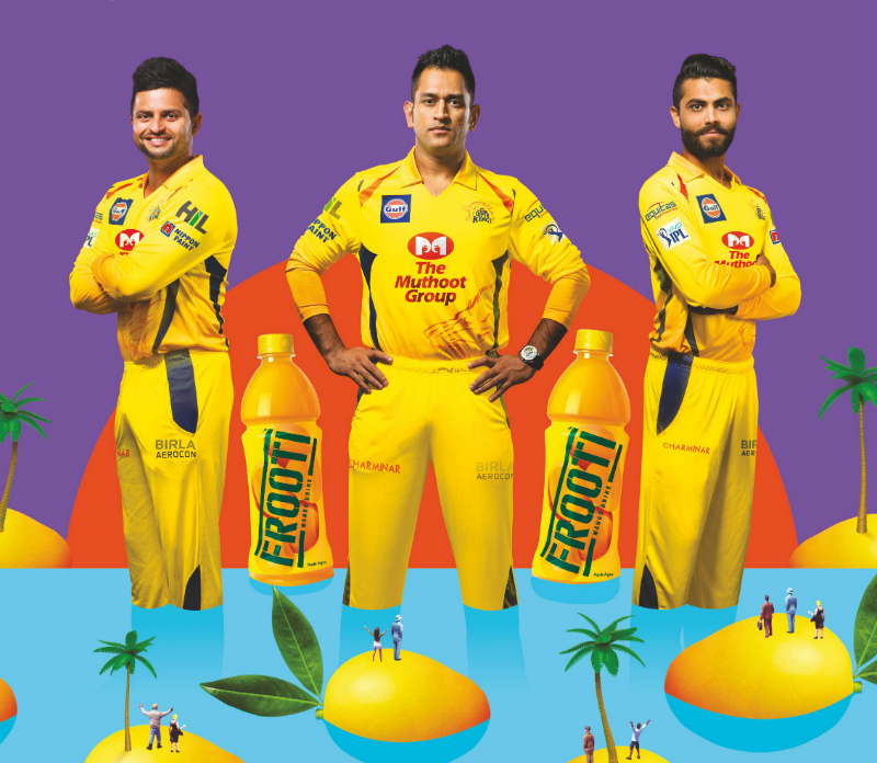 Frooti for CSK