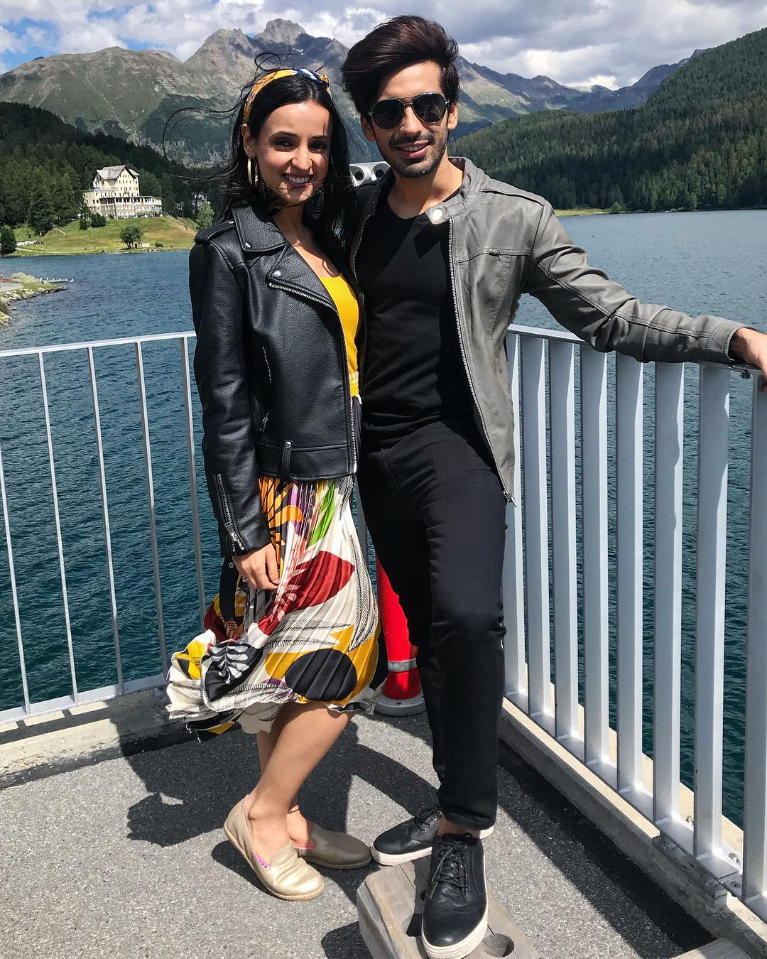 3 sanaya irani - mohit sehgal in switzerland