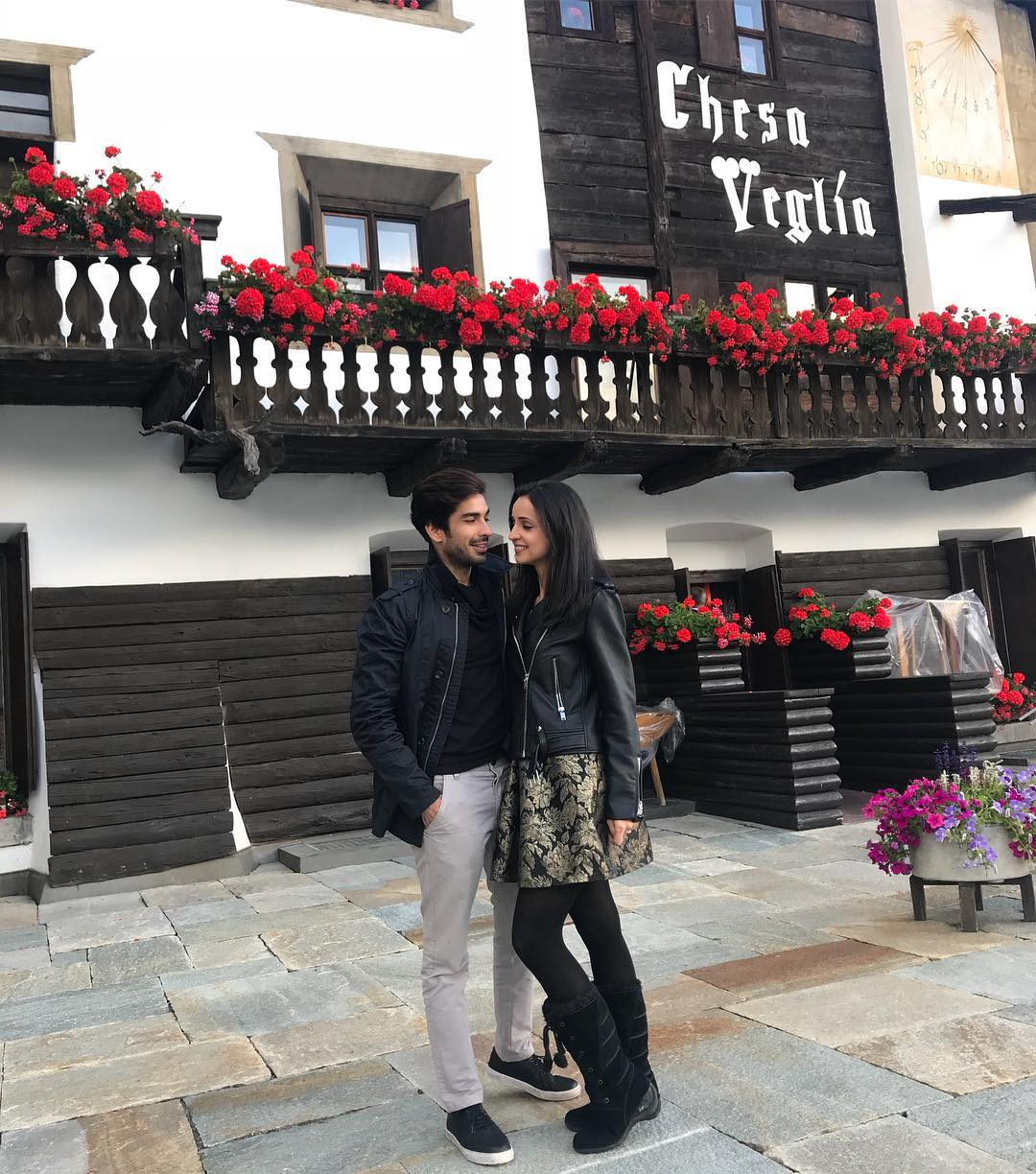 4 sanaya irani - vacation in switzerland with husband