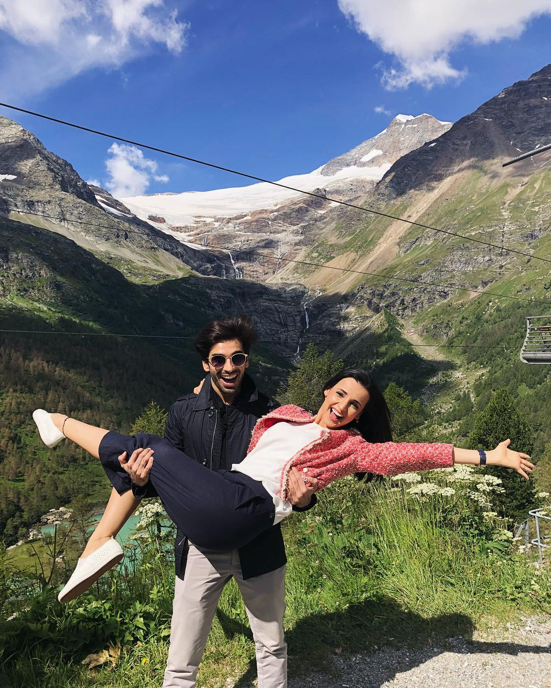 7 sanaya irani - mountains in switzerland