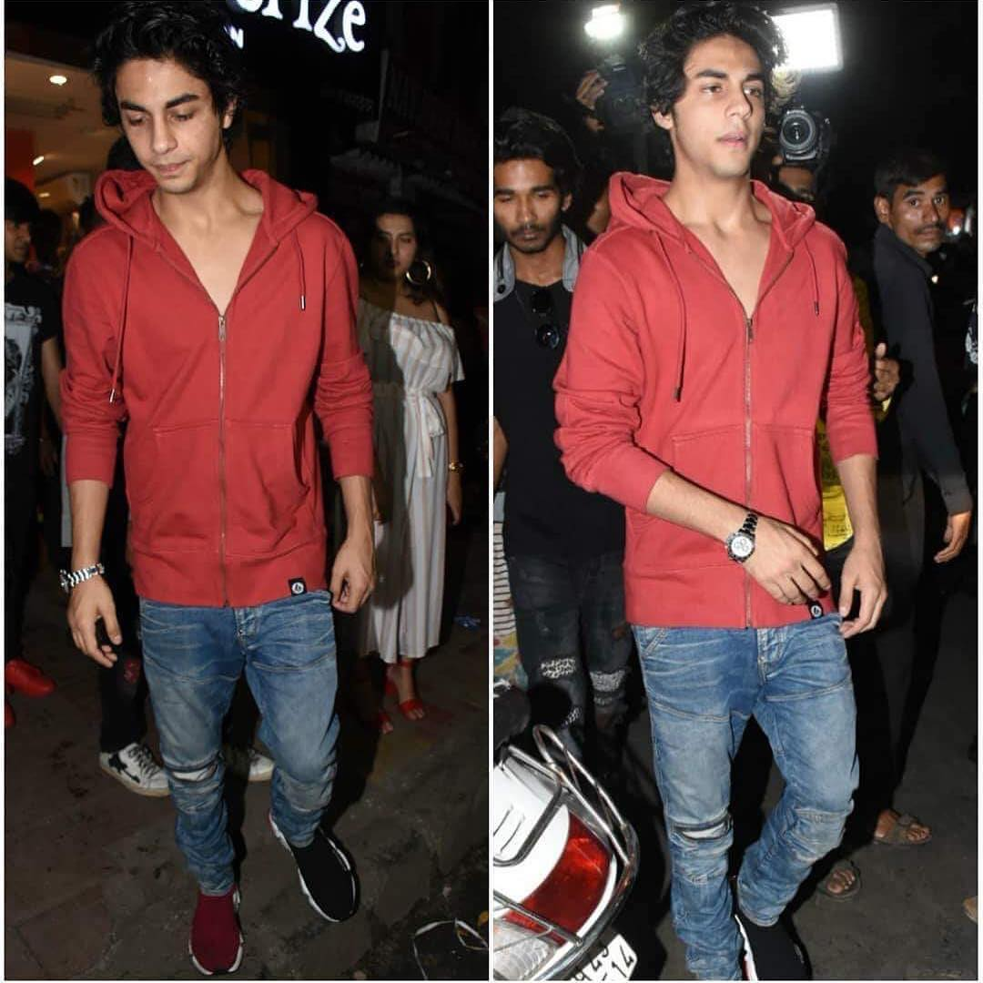 4 aryan khan - at friend's birthday party