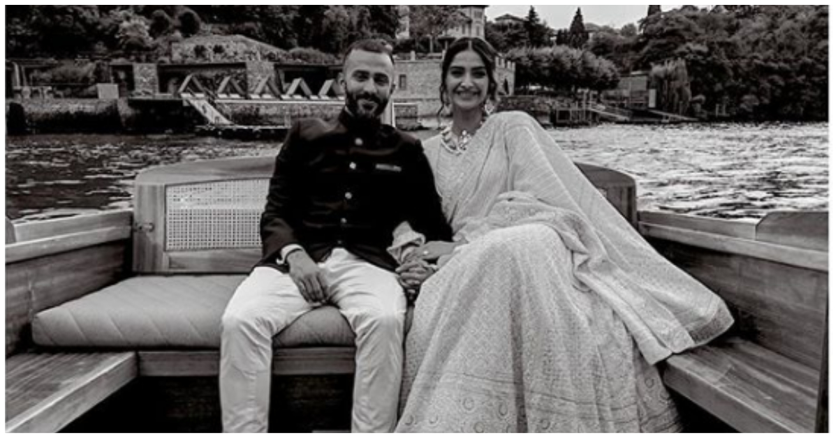Sonam Ahuja wears lehenga given by her Mother-in-law- FB
