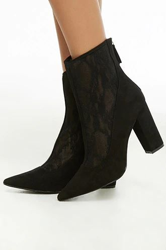 15-types-of-boots-Lace-Ankle-Boots