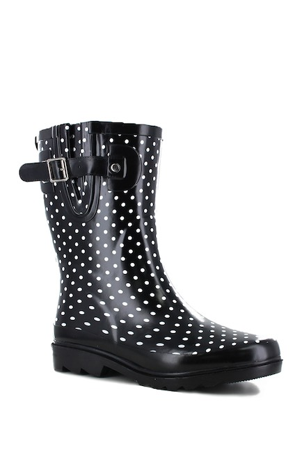 34-types-of-boots-Mini-Dots-Mid-Rain-Boot