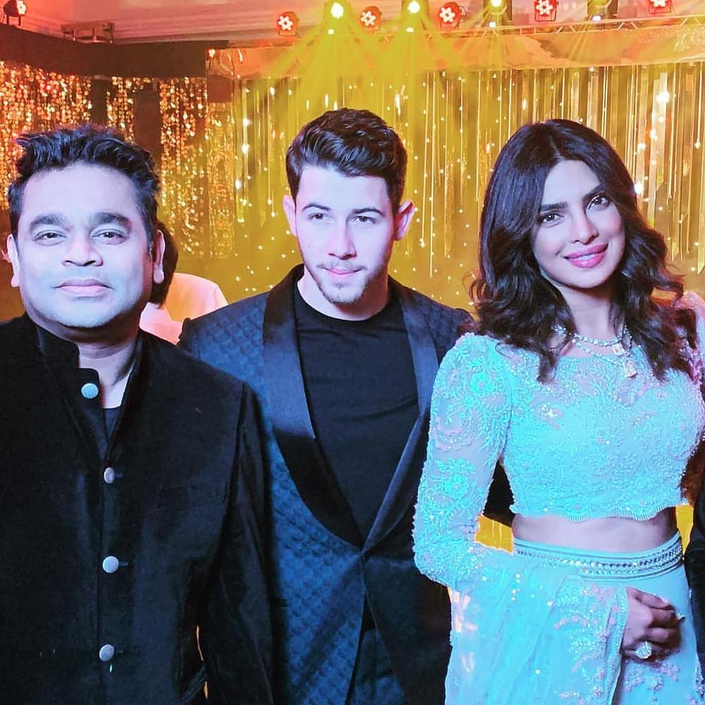 nick and priyanka with rehman