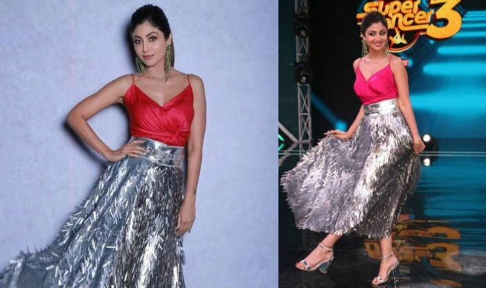 shilpa-shetty-red-silver-look-for-christmas-main