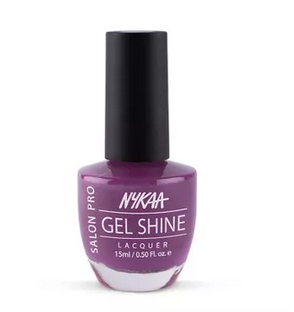 Nykaa Salon Shine Gel Nail Lacquer - Hong Kong Harbour 218
