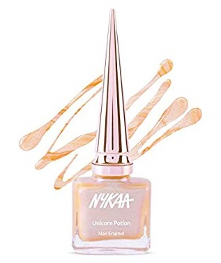 Nykaa-Unicorn-Potion-Nail-Enamel-Sugar-Spice-best-nude-nail-polish