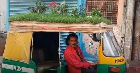 this-envioronment-friendly-auto-driver-has-a-bizzare-way-to-save-greens 02