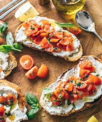 13 food names we mispronounce bruschetta