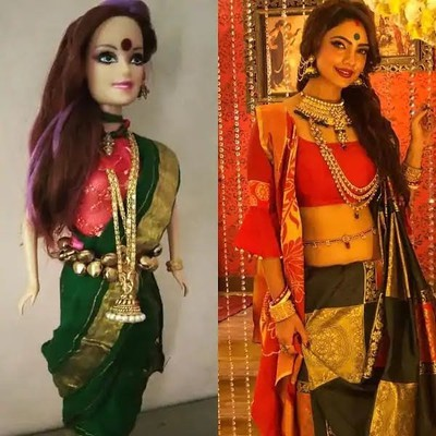 prerna and komolika nivedita doll3