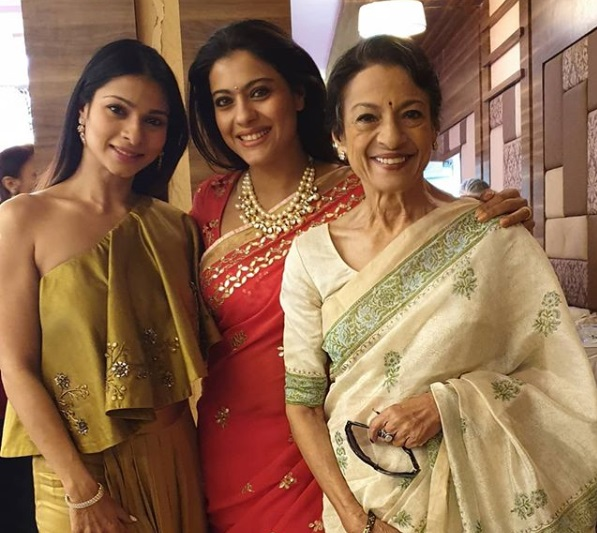 Kajol's mother Tanuja Admitted in Hospital2