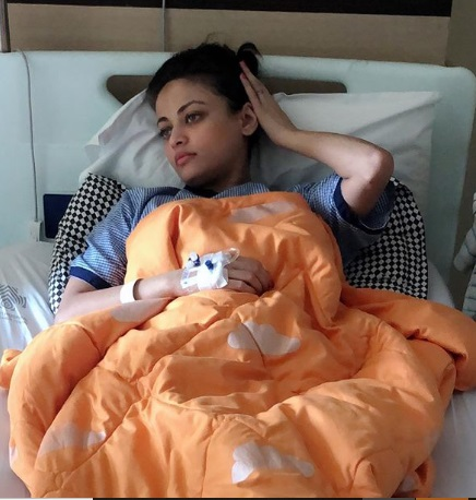 Sneha Ulal Admitted in hospital 2