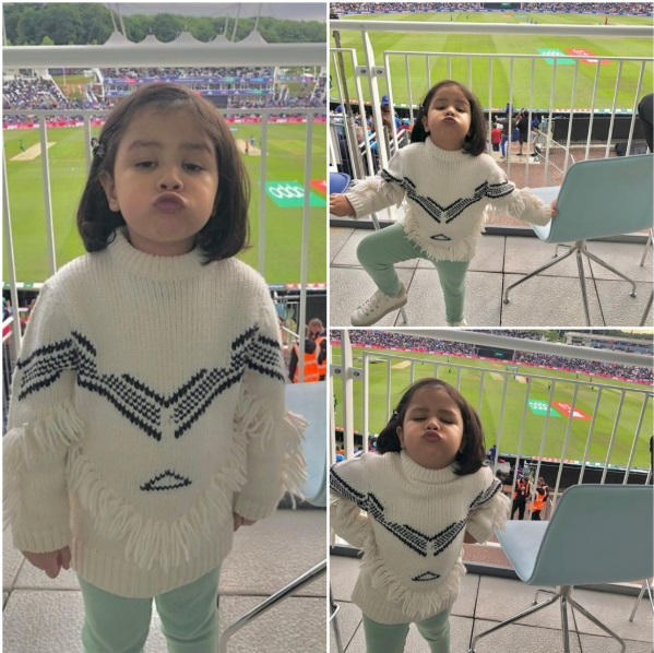 Ziva Dhoni Debut in WorldCup 2019 3