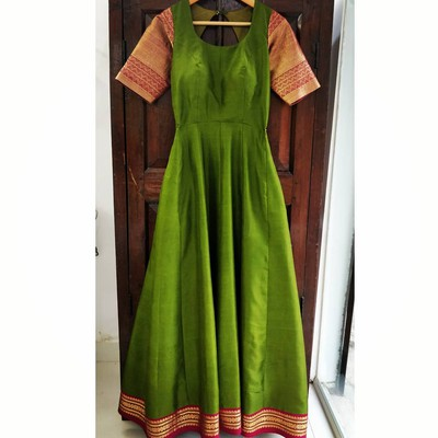 5. Dresses Made From Old Sarees In Marathi