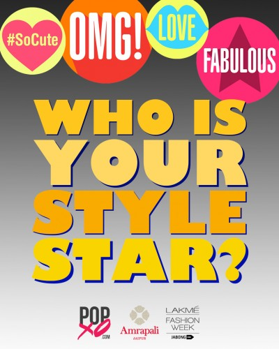 Vote for Your #POPxoStyleStar so They Can Win a Manish Arora for Amrapali Goodie!