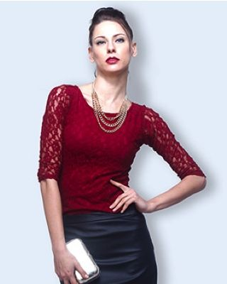 rupby lace top