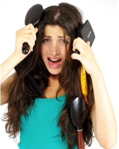 #LongHairProblems: How to Stop Your Hair from Getting Tangled