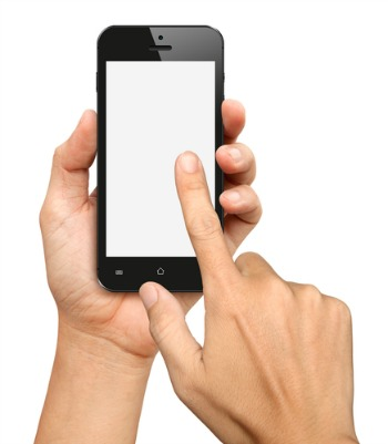 cell phone screen