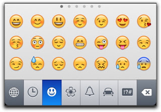 sexting mistakes - emoticons