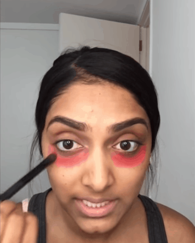 Red Lipstick to Cover Dark Circles? Hell, YEAH!
