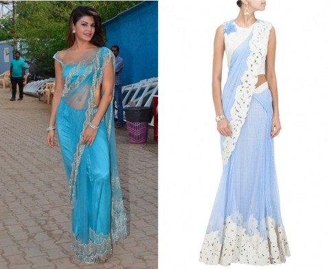 bollywood celebs in indian wear - jacqueline