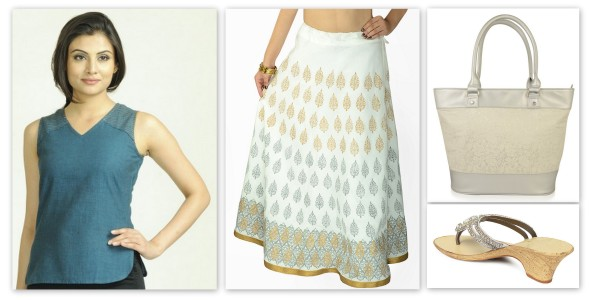 indian wear for work - collage 5