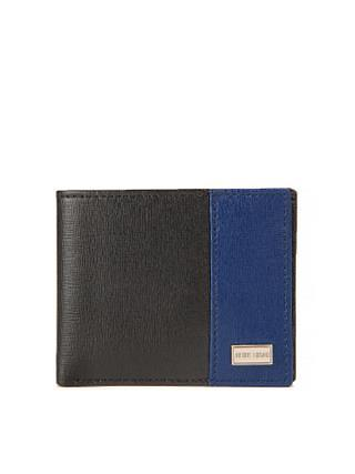 gifts for men - Antony-Morato-Men-Black-Blue-Leather-Wallet_mini_320x427_320x427