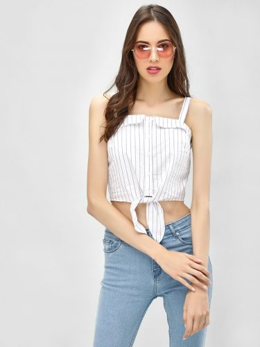 Cropped Stripes-summer-tops