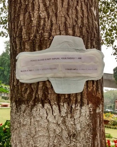 Pads Against Sexism - Small Notes, But a Big Message!