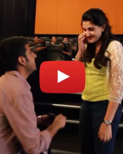 #Awww: This Adorable Marriage Proposal Really Raises The Bar!