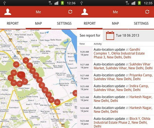 apps for women mapmyindia