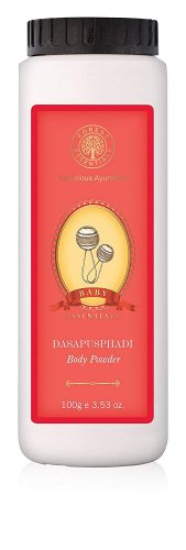 Forest Essentials Dasapushpadi Baby Body Powder