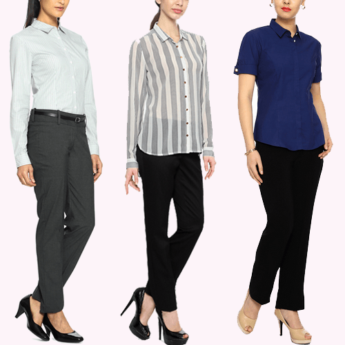 work clothes for women Informal Shirts
