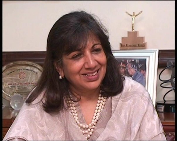 Successful Indian Women Kiran_mazumdar_shaw
