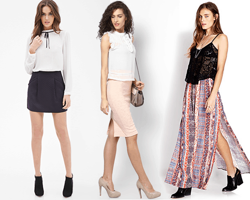 skirts for every body type Petite