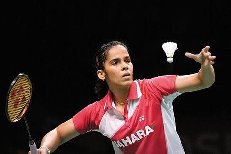 Sucessful Indian Women Saina Nehwal