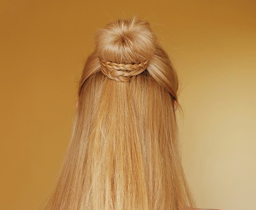 easy updos for long hair