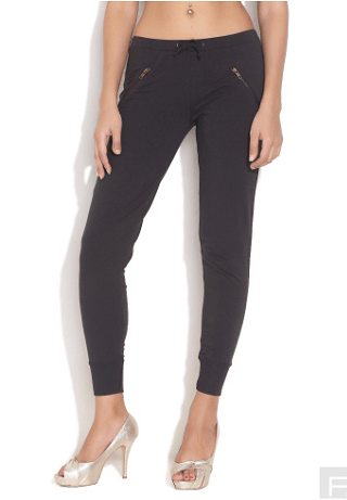 zippered joggers