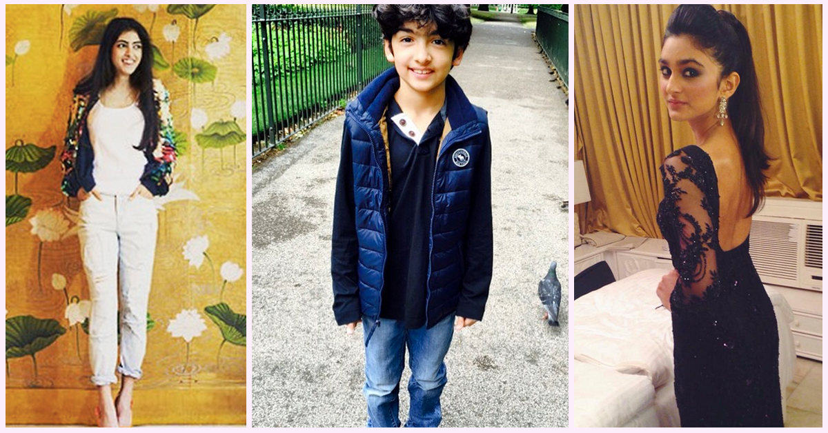 7 Celeb Kids Who Are Sure To Take Bollywood By Storm!