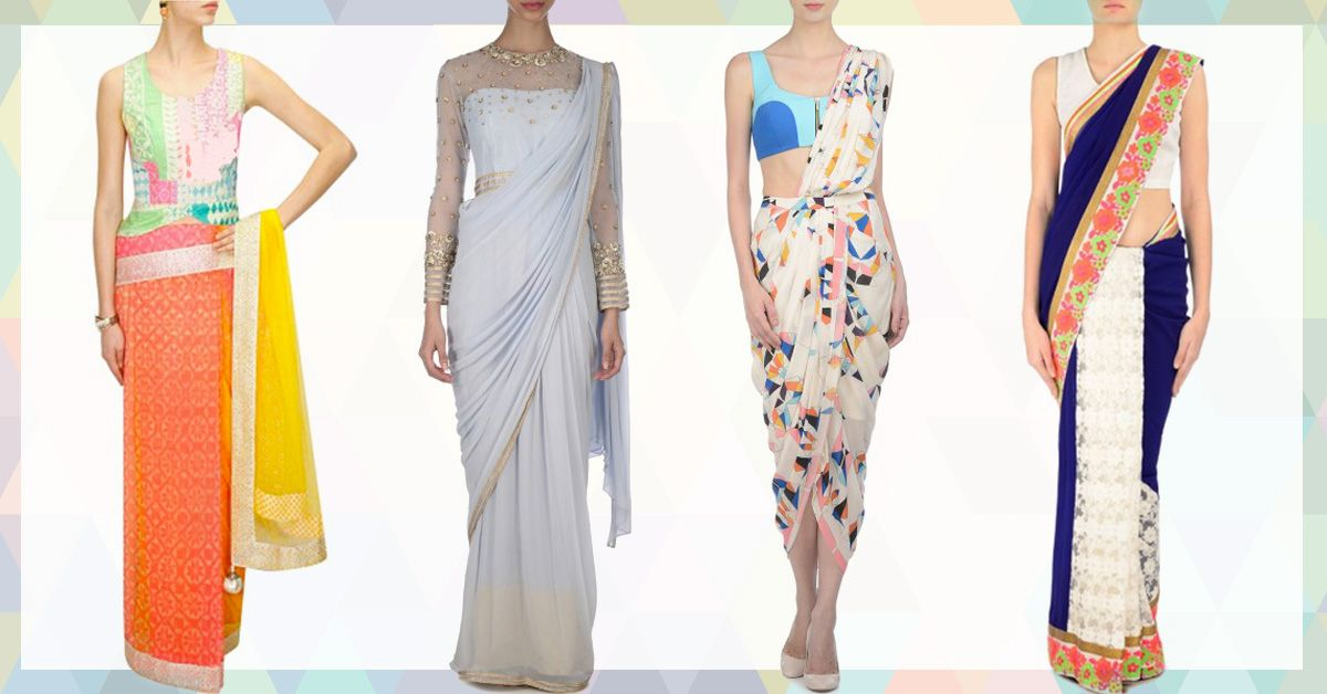14 Saree Styles That'll Add Fun to Your Wardrobe