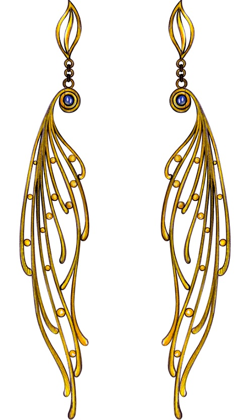 Earrings for Round Face