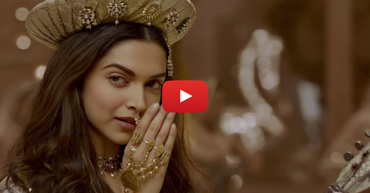 "Deepika Is SIZZLING In The Spectacular ""Deewani Mastani""!"