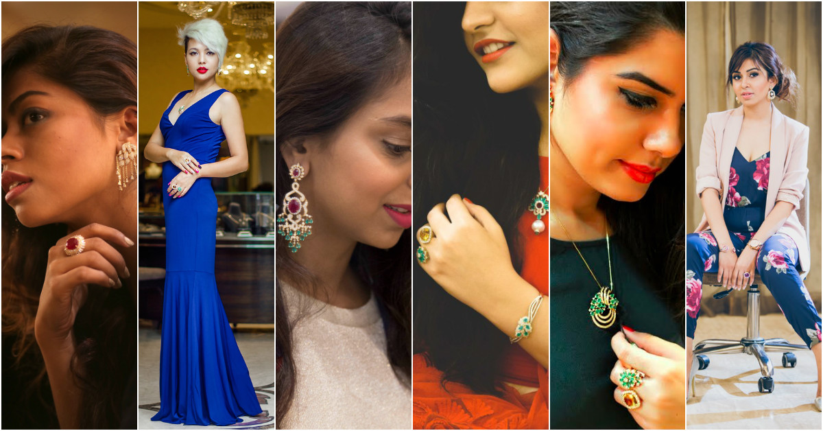 6 Fashion Bloggers Let Loose In A Jewellery Store...!